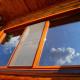 Как ухаживать за окнами из дерева?